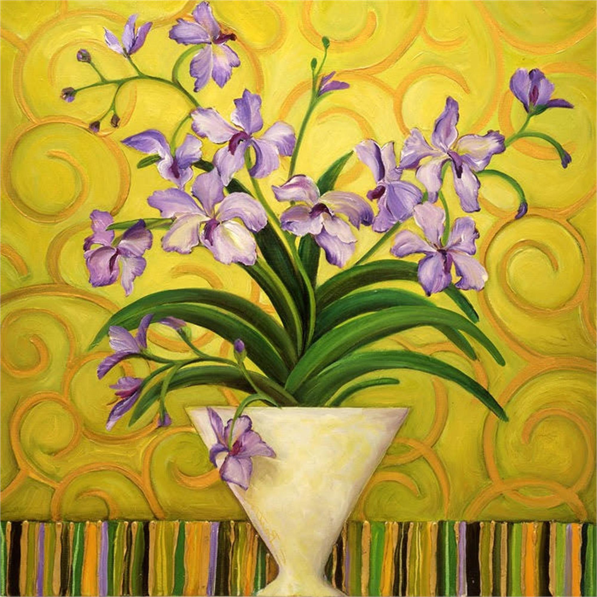 Purple Spring by Shelly Bartek