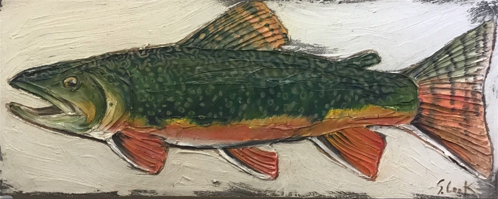 Speckled TRout by Sherry Cook
