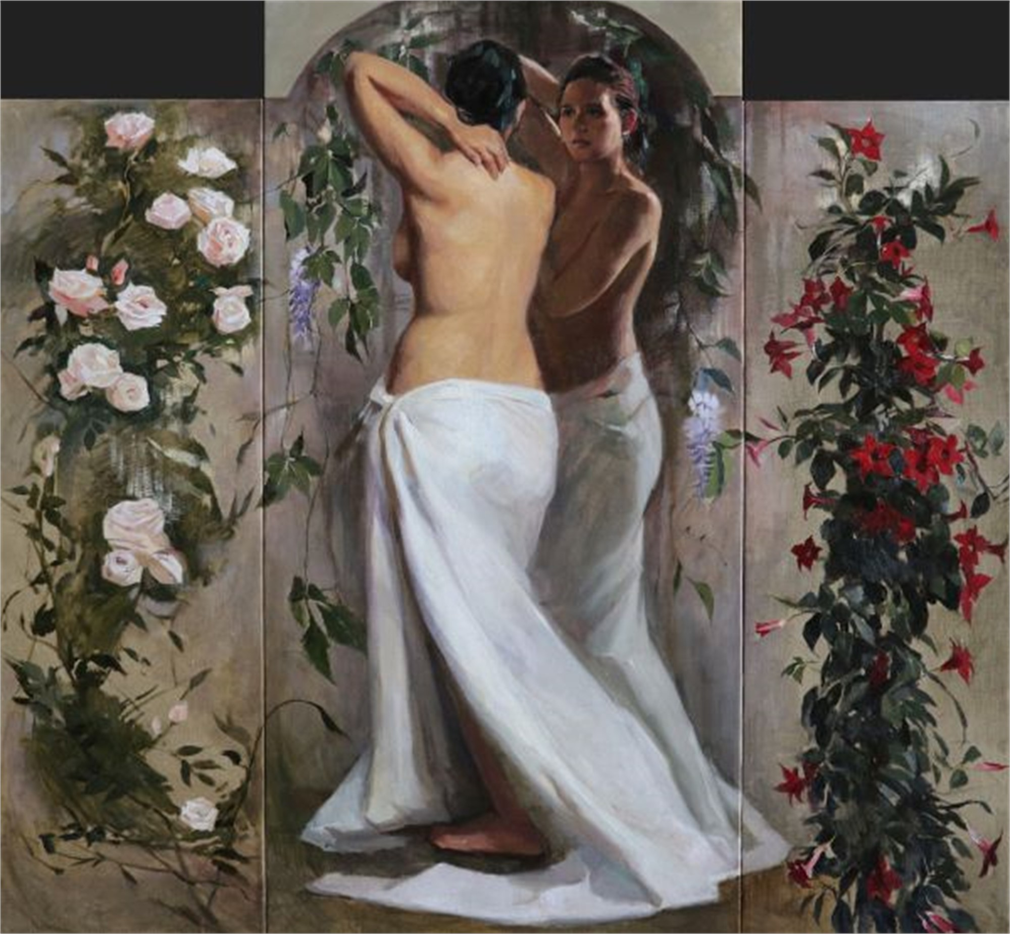 Spring (Triptych) by Tanvi Pathare