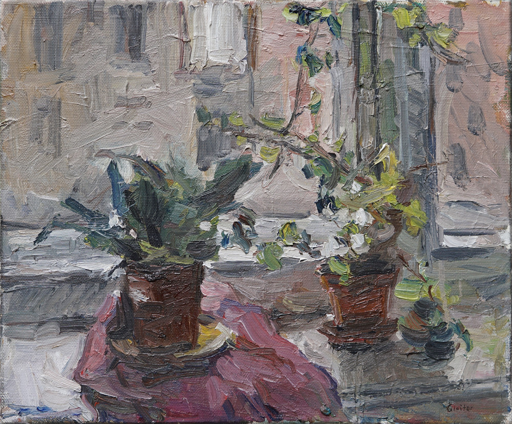 By My Window by Ulrich Gleiter