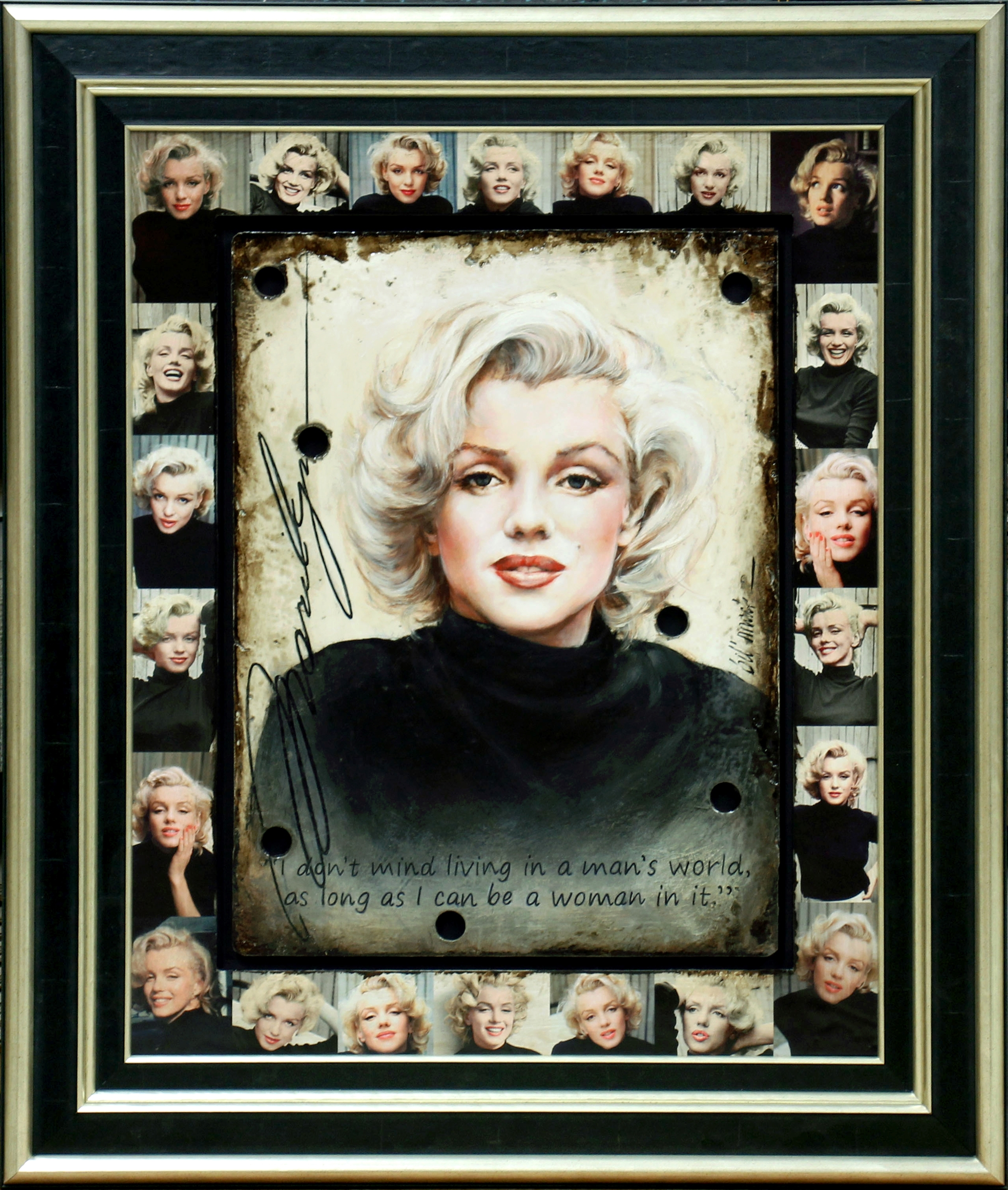 Marilyn Man's World by Bill Mack Hollywood Sign