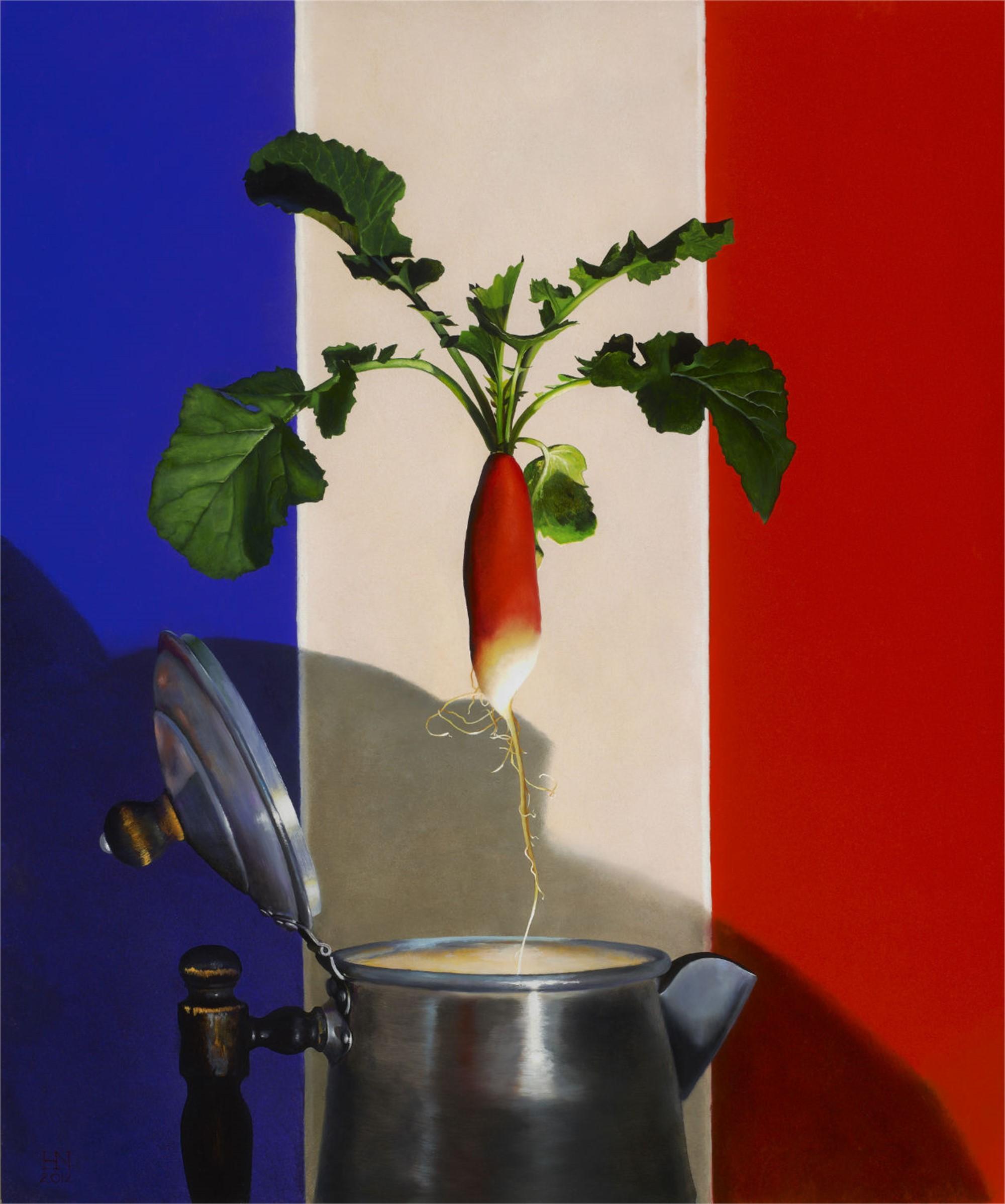 French Breakfast Radish by Heather Neill