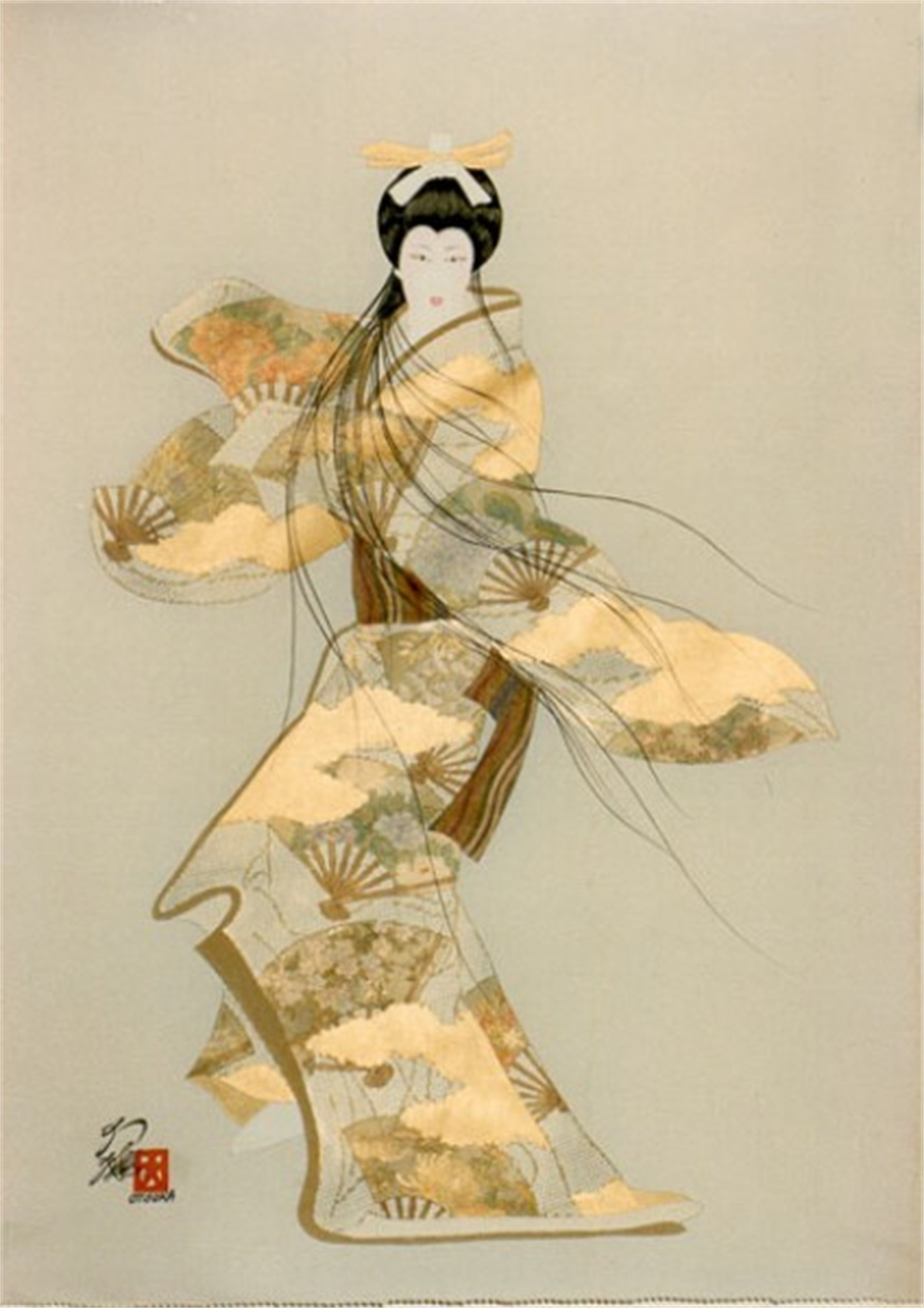 Lady Mieko - Autumn by Hisashi Otsuka