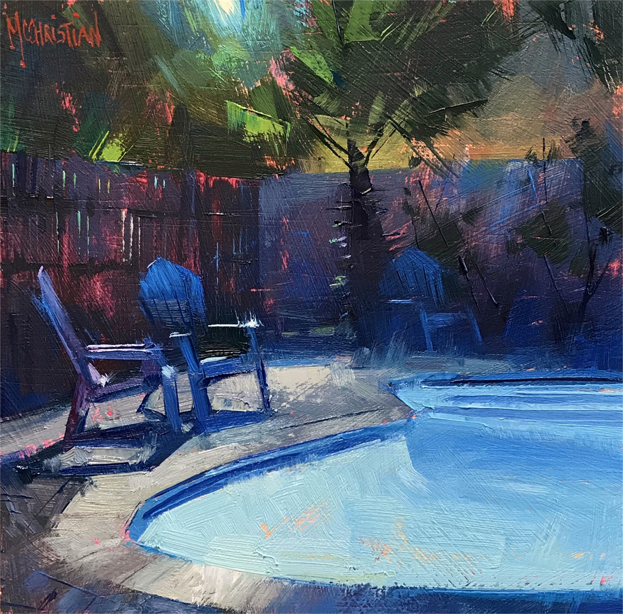 Serene Submersion by Jennifer McChristian