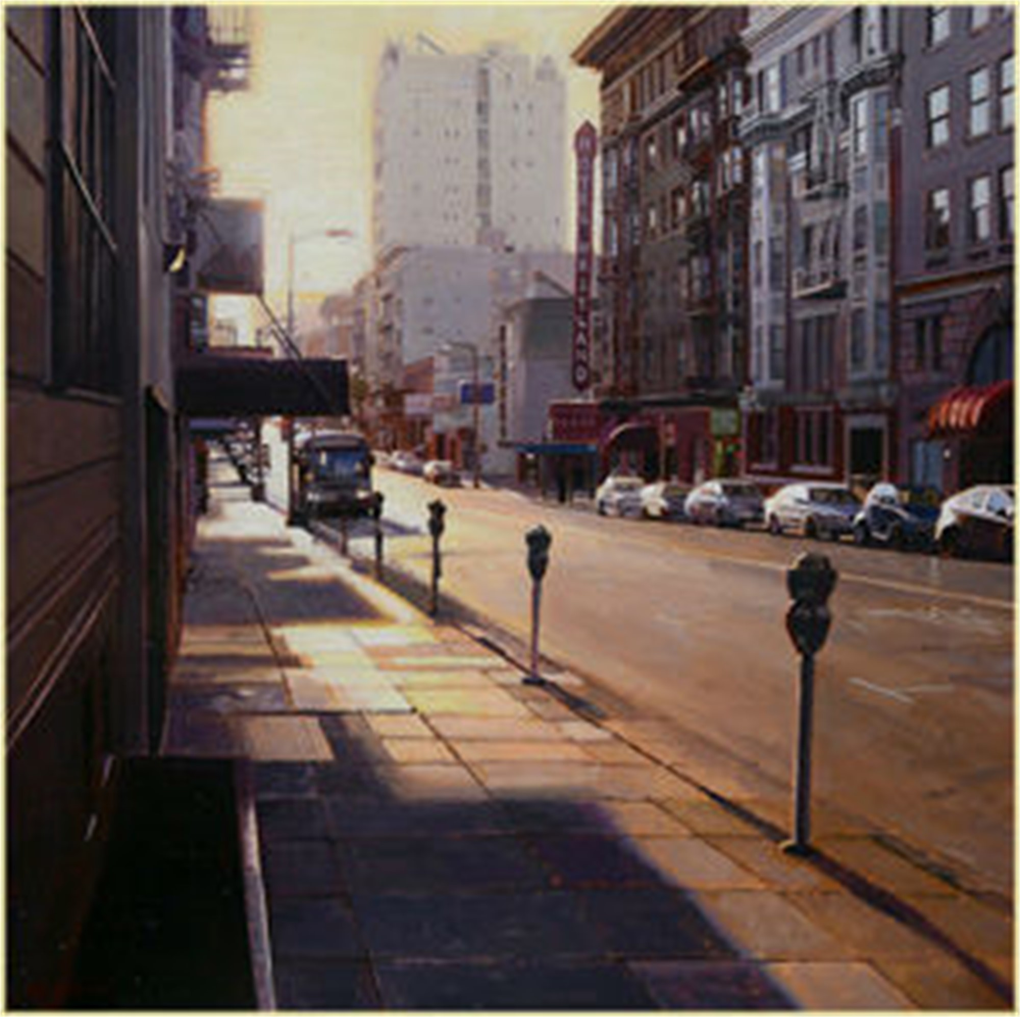 Sunset on Geary Street by Greg Gandy