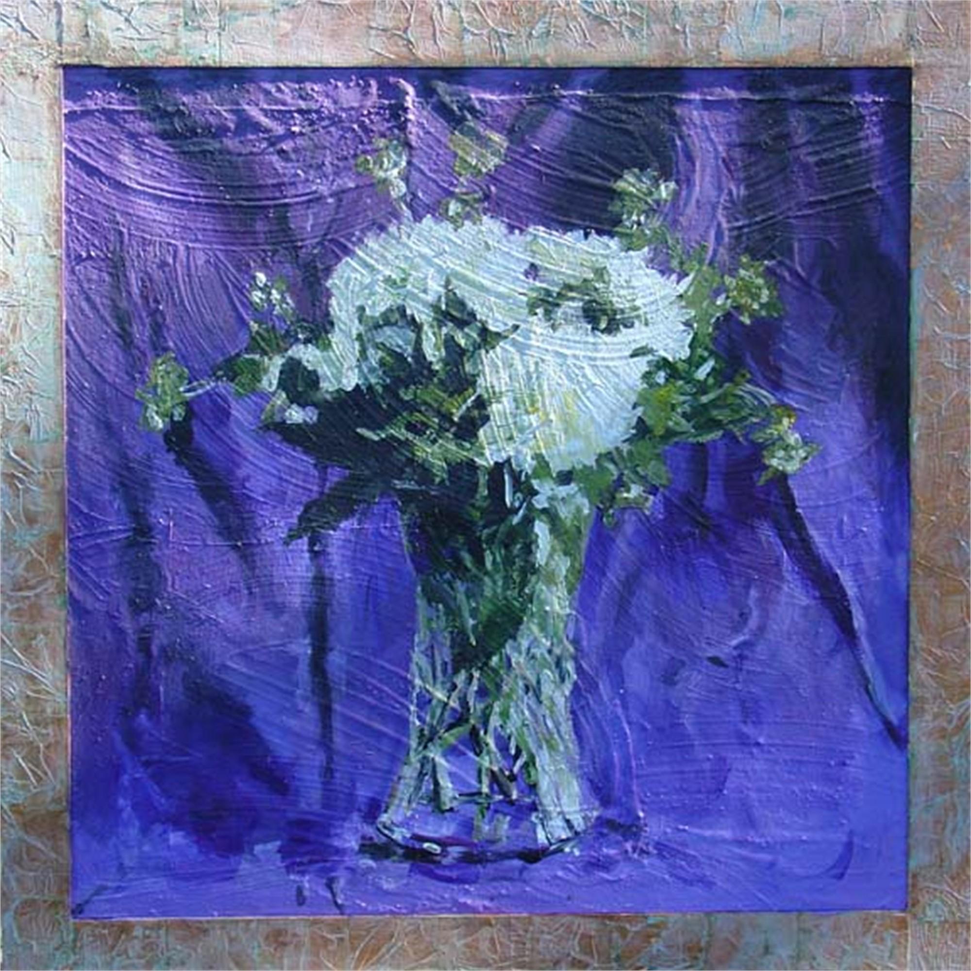 White Flower by Mark Gaskin