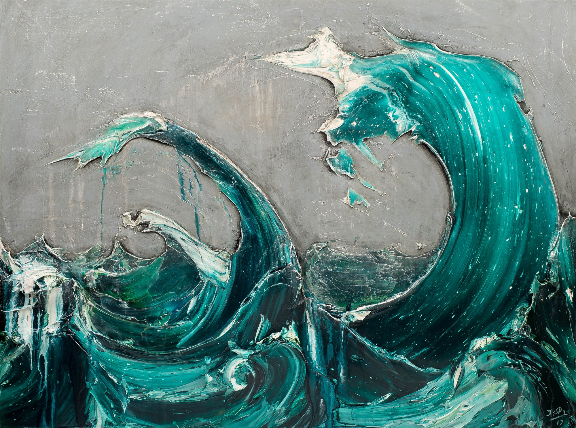 Waves by JUSTIN GAFFREY