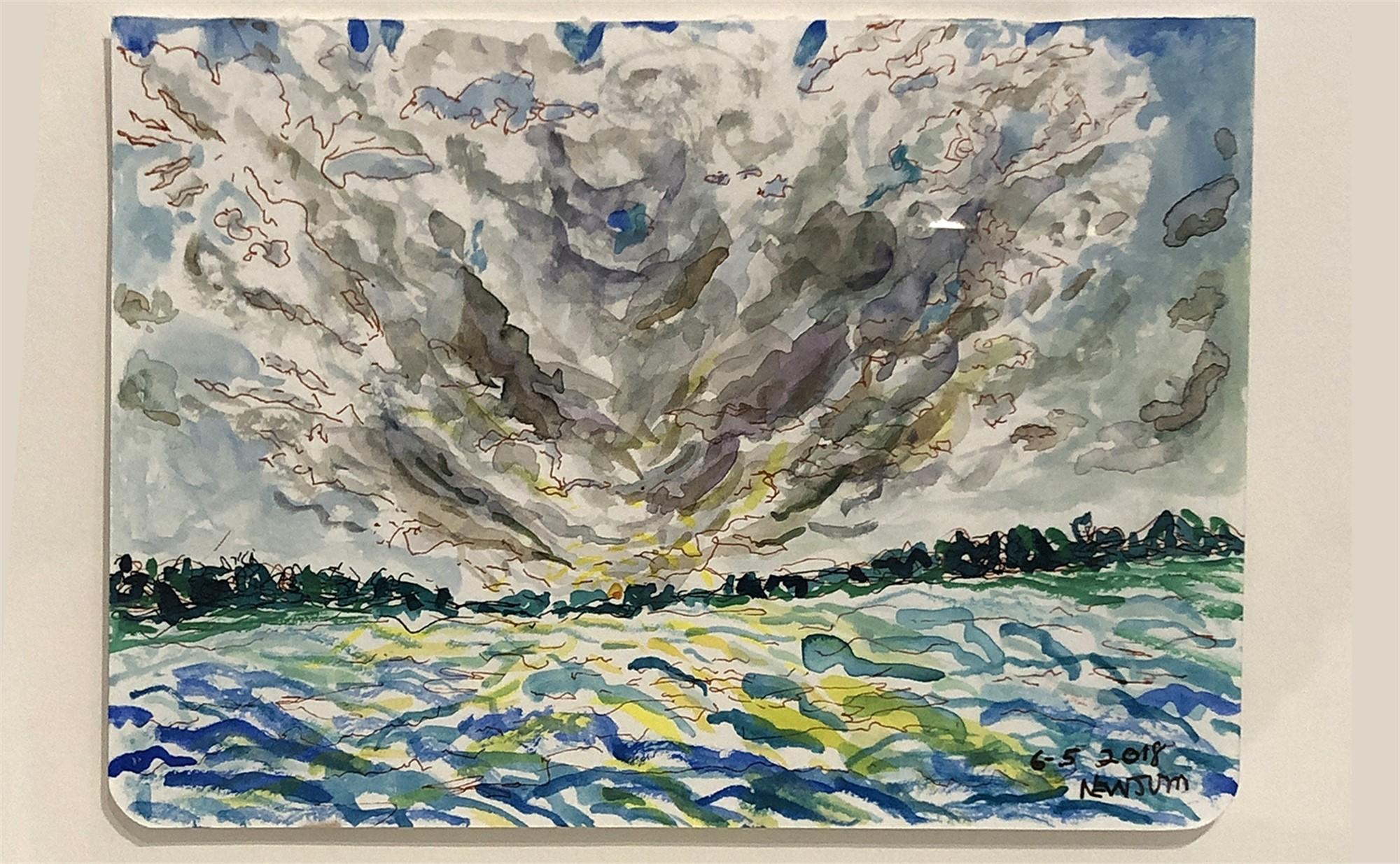 Storm Approaching III by Floyd Newsum