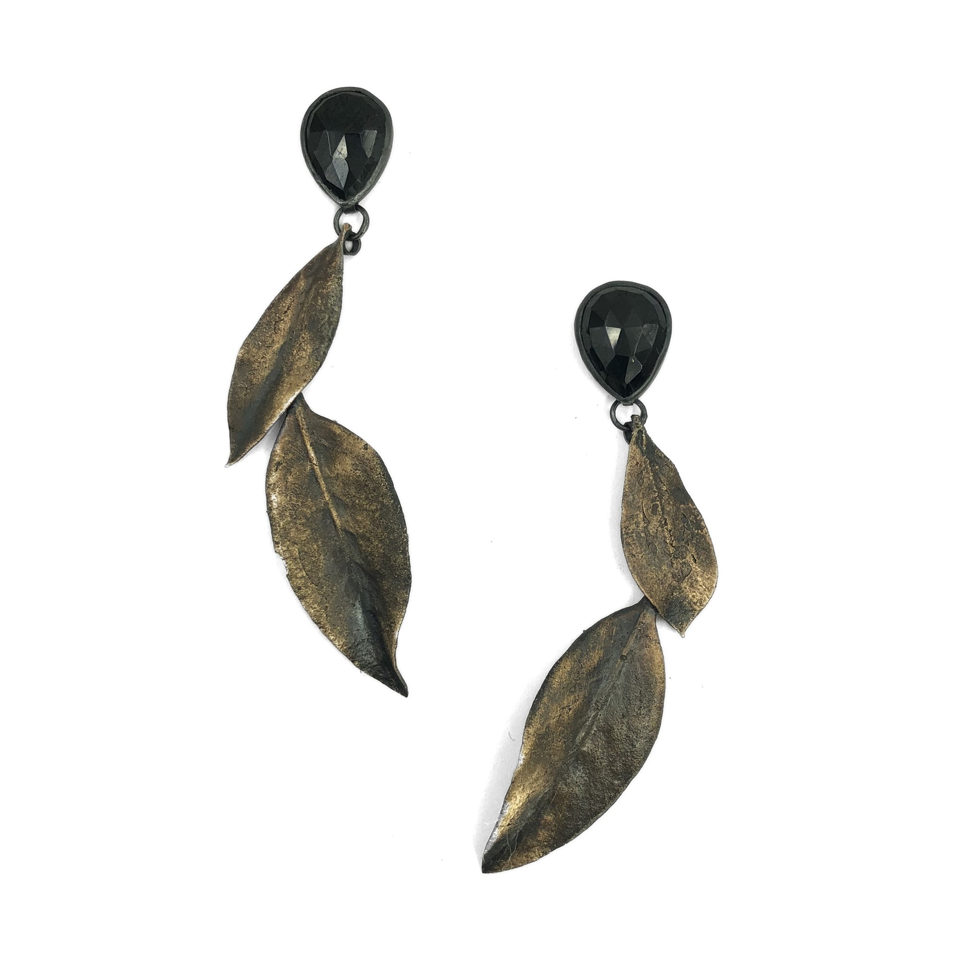 Onyx Pieris Earrings by Anna Johnson