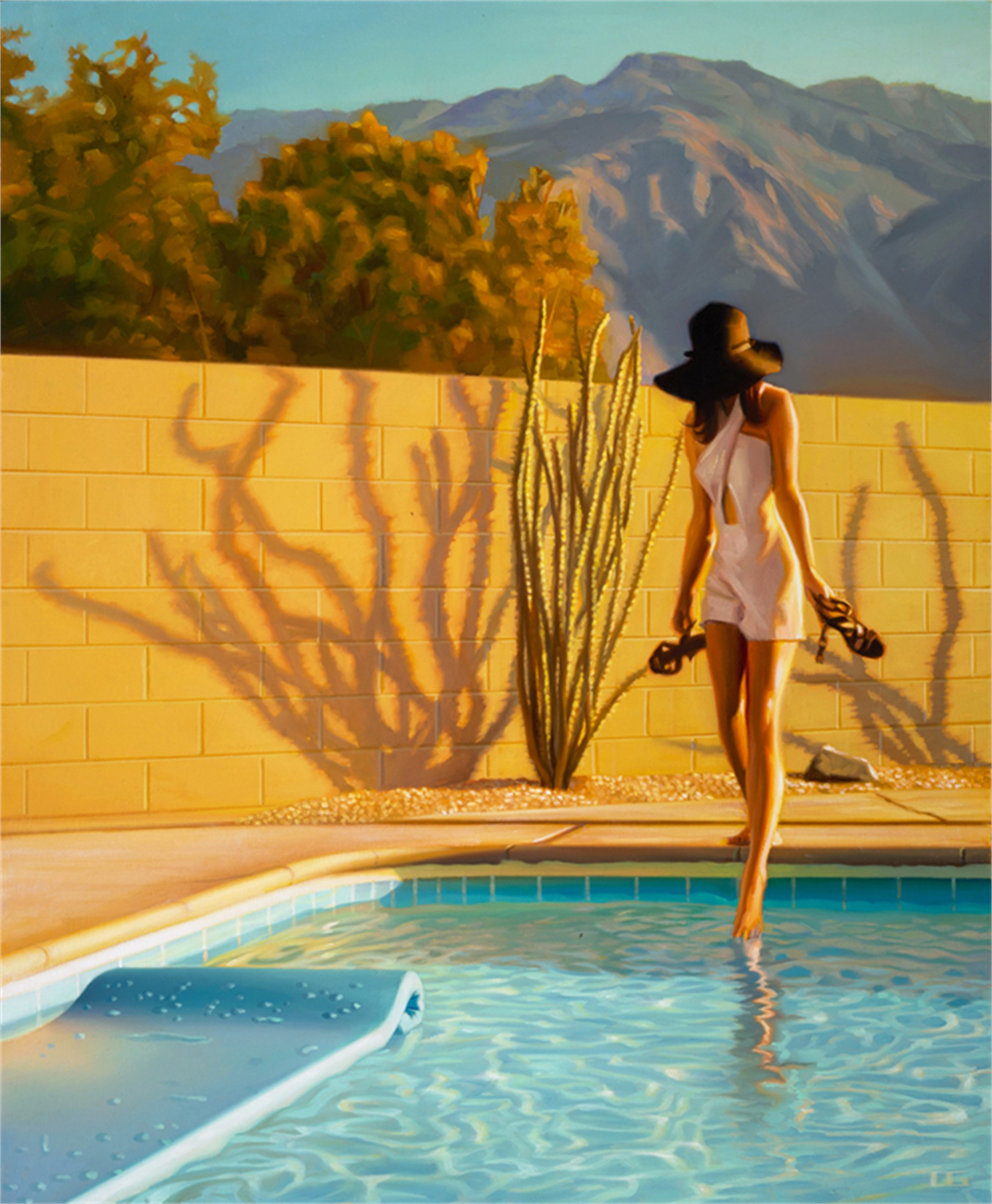 Ocotillo Shadows (S/N) by Carrie Graber
