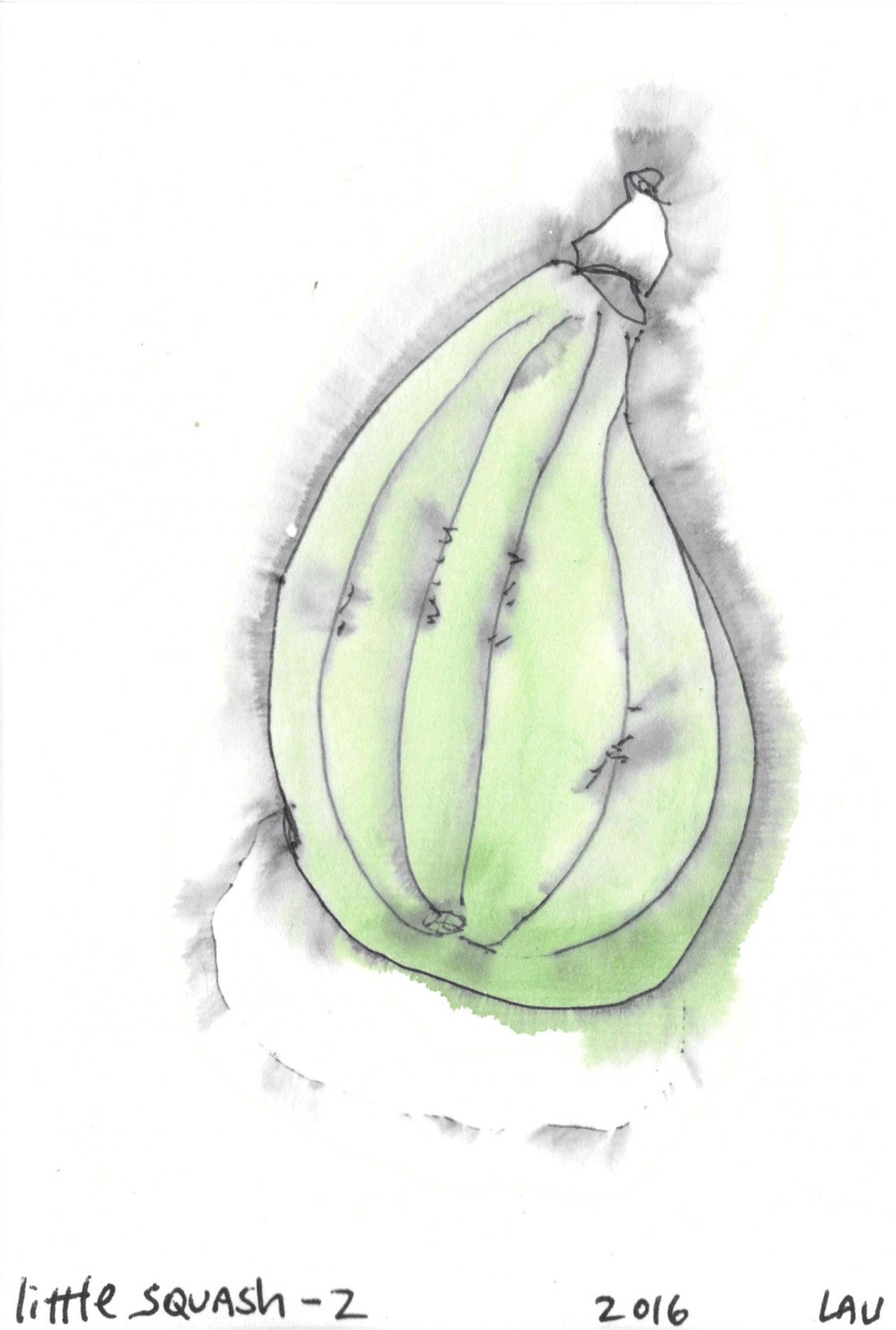 little squash #2 by Alan Lau