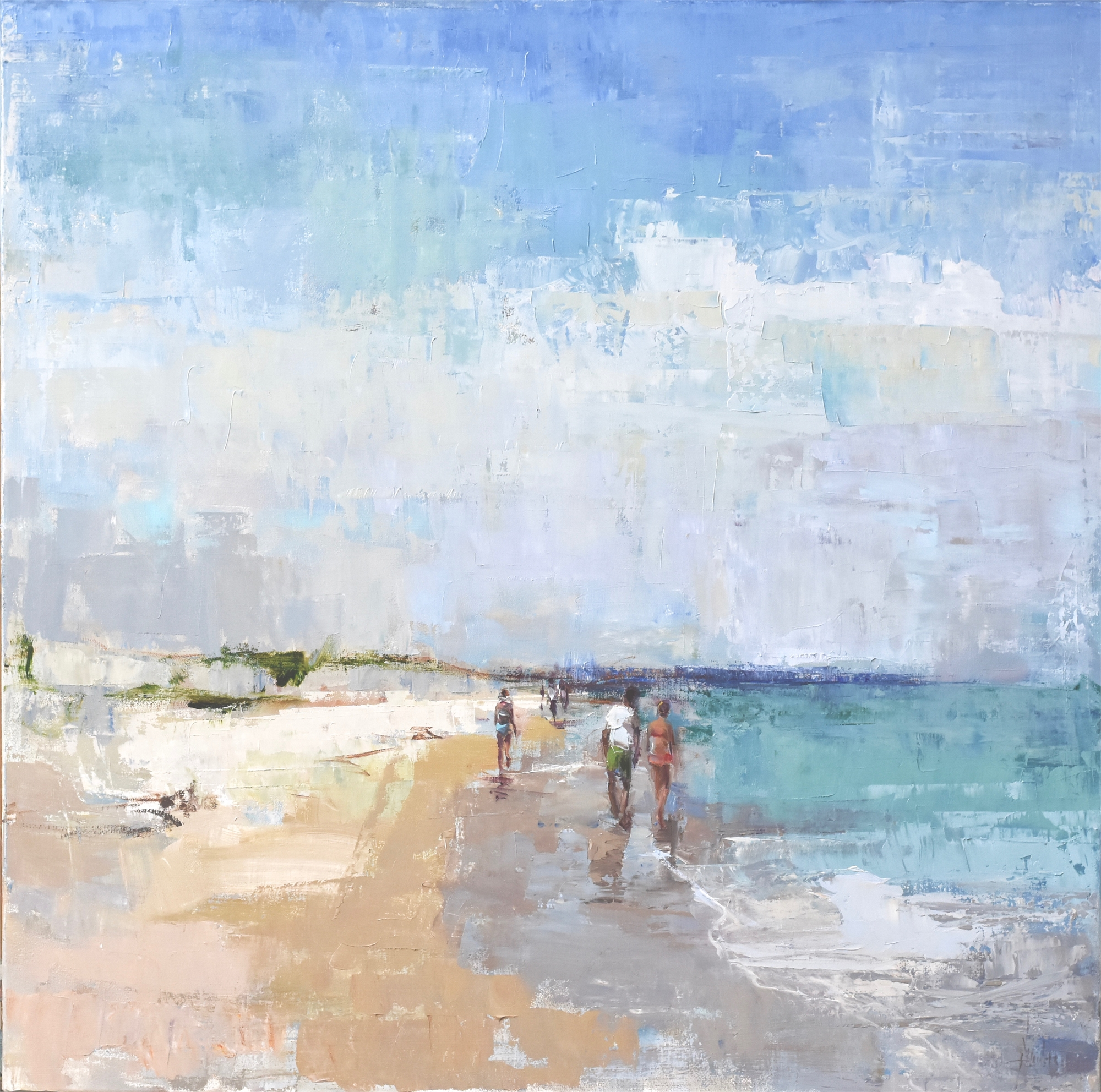 Favorite Beach--ON HOLD by Barbara Flowers