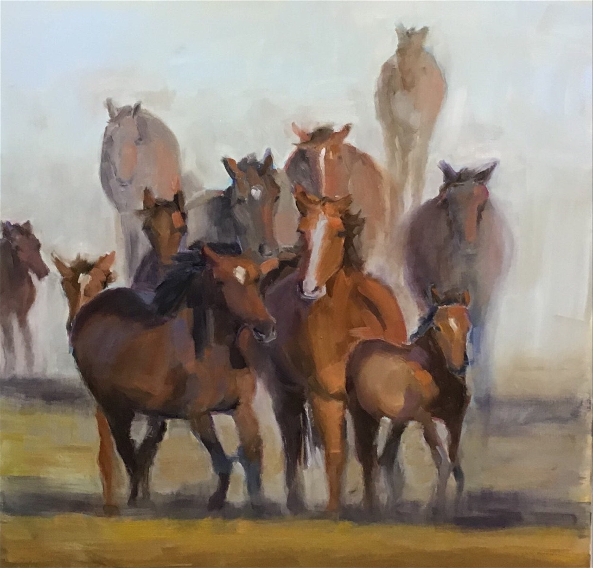 Afternoon Run by Susan Westmoreland