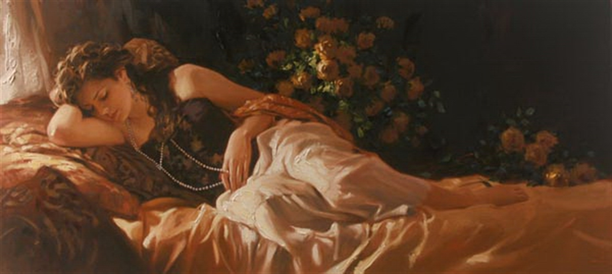 Amber and Pearls by Richard Johnson
