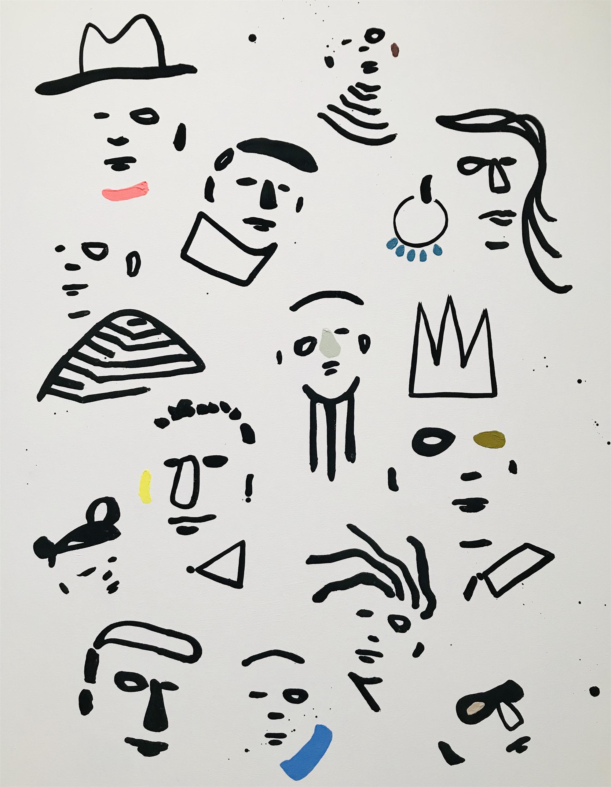 Conga Line by Suzy Lindow