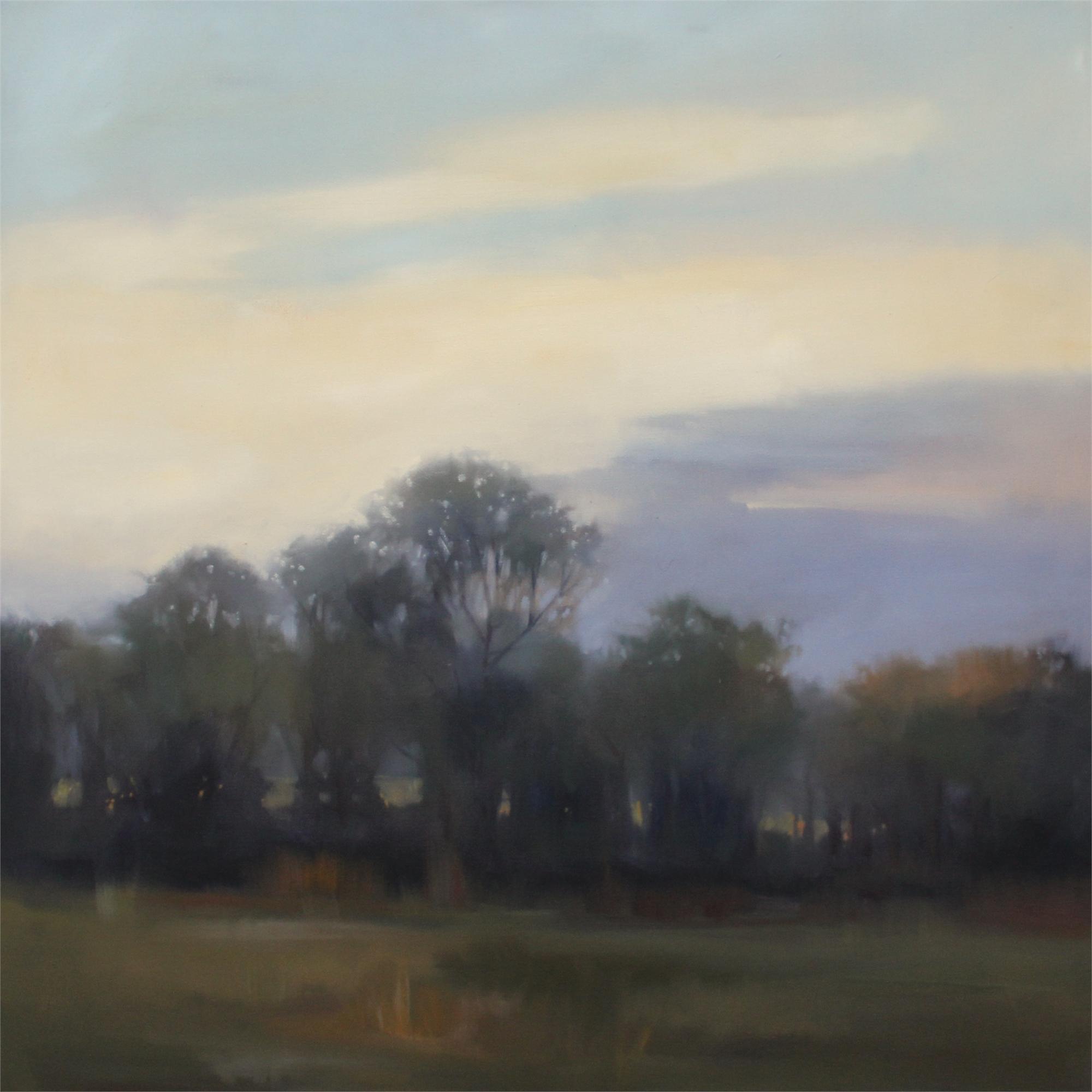 Evening Treeline by Megan Lightell