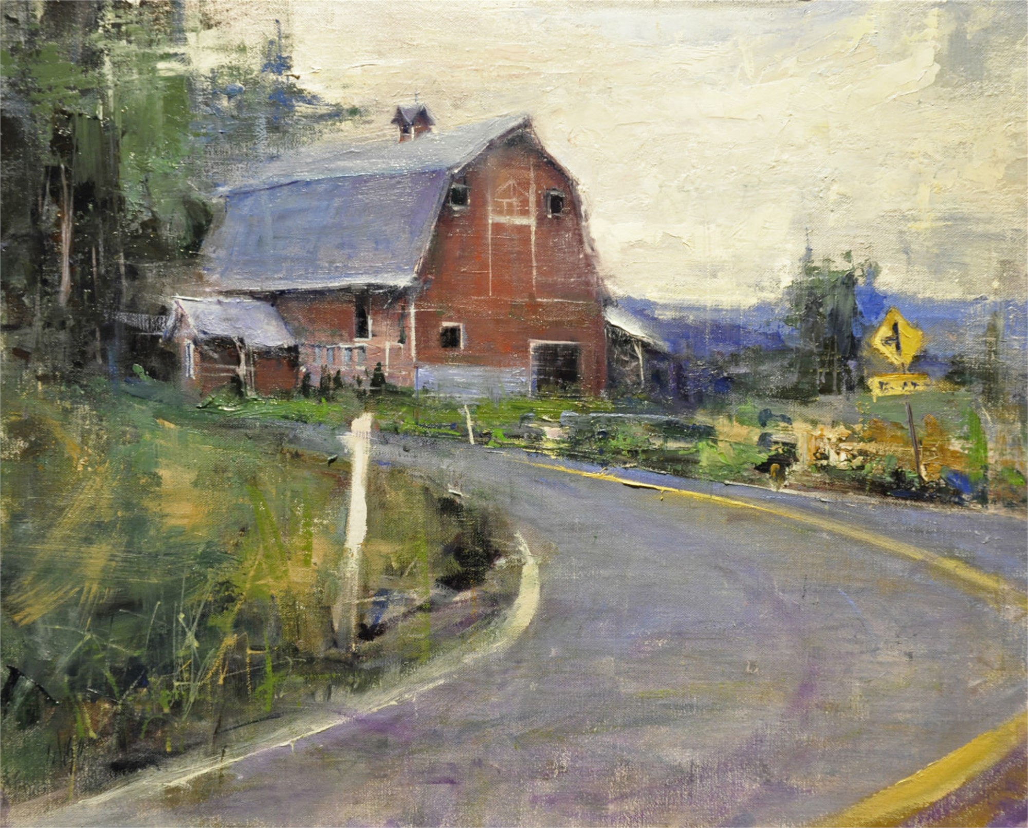 Larimer Road Farm by Mike Wise