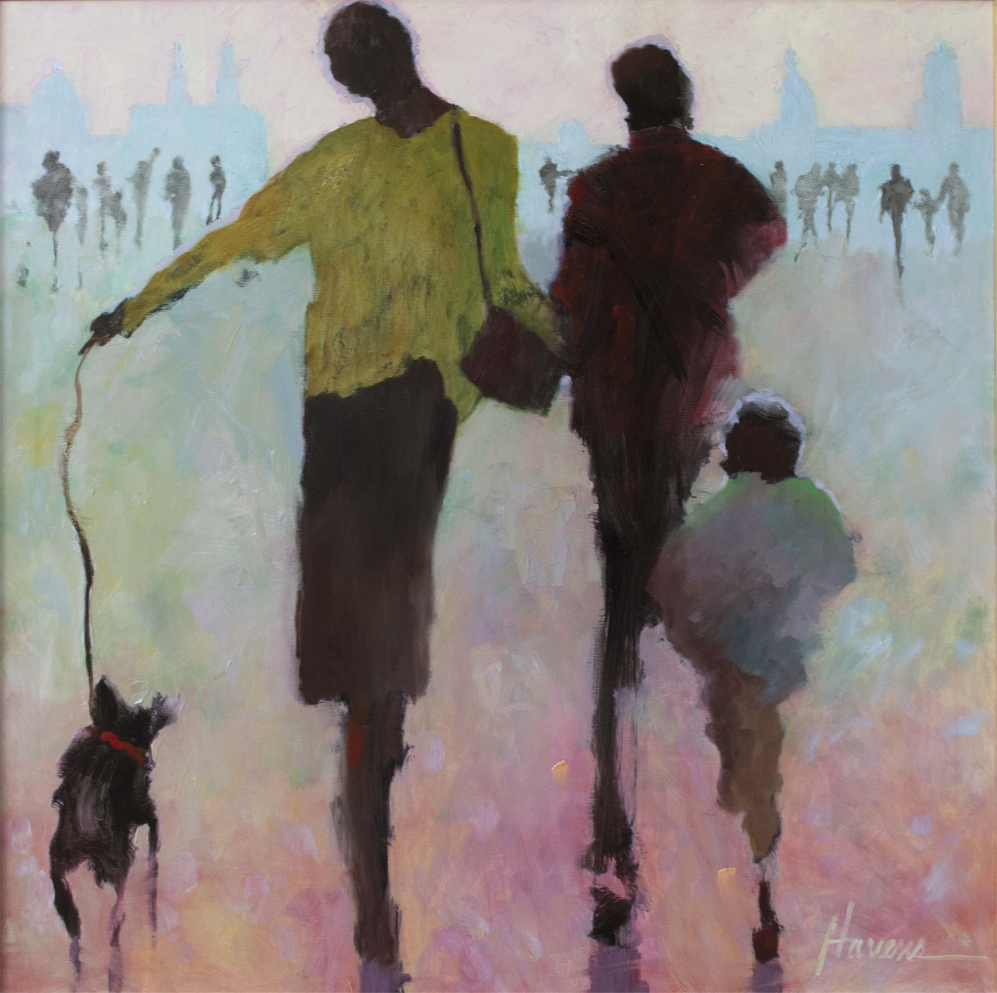 Walking the Dog by Betsy Havens