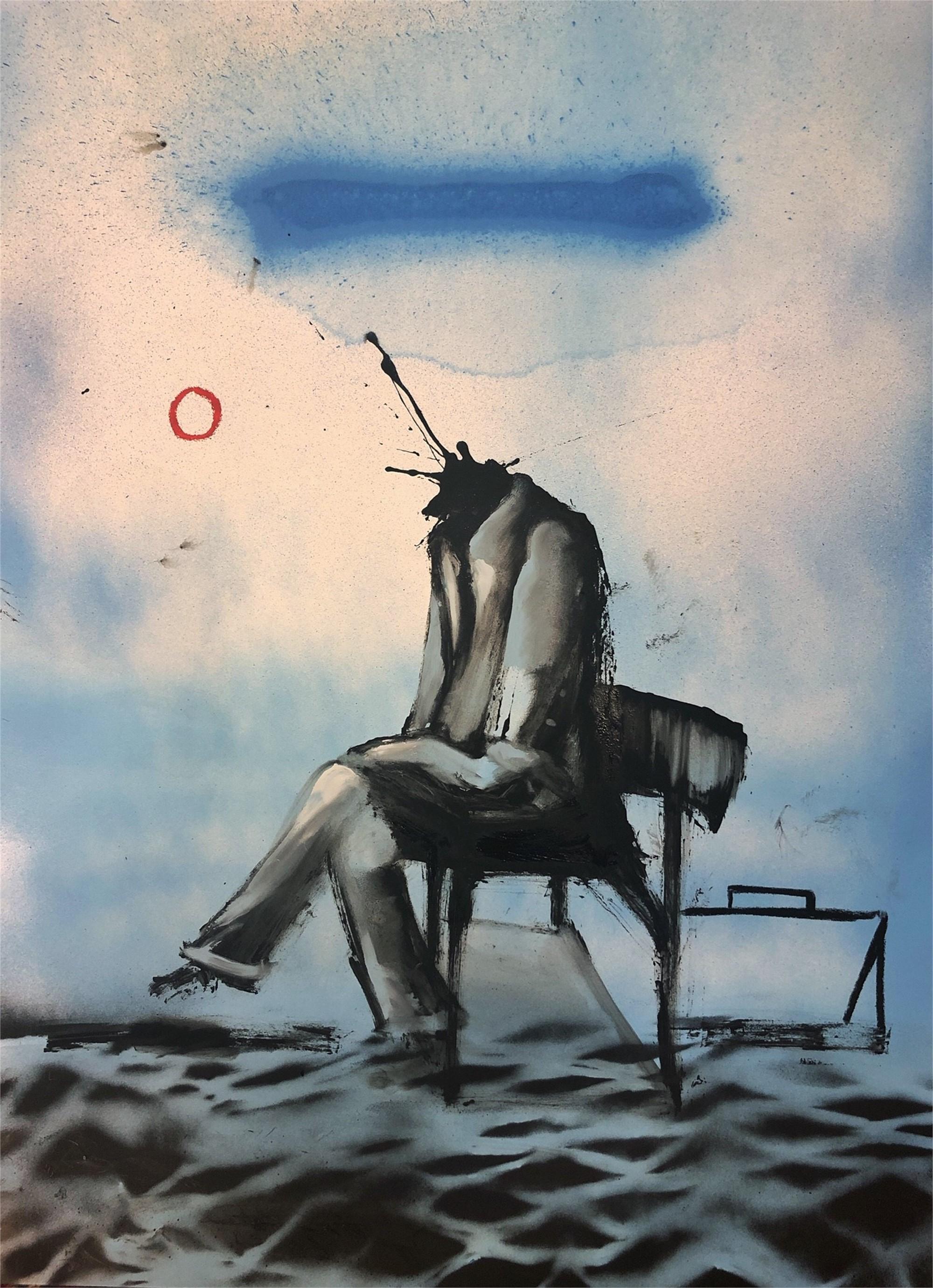 Faceless On Shaky Ground I by Marcus Jansen