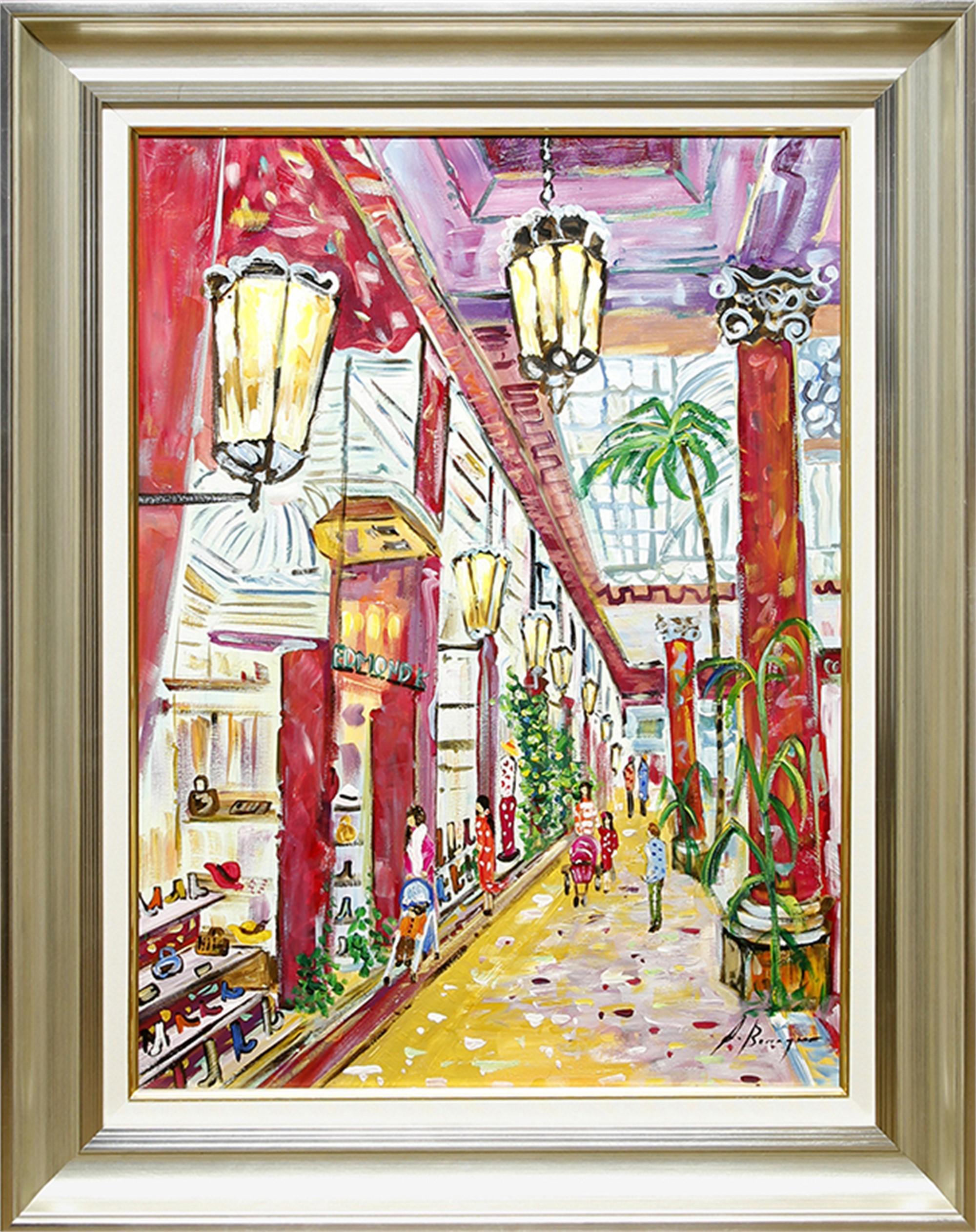 Arcade Des Champs Elysees - Paris by Andrea Berenguer