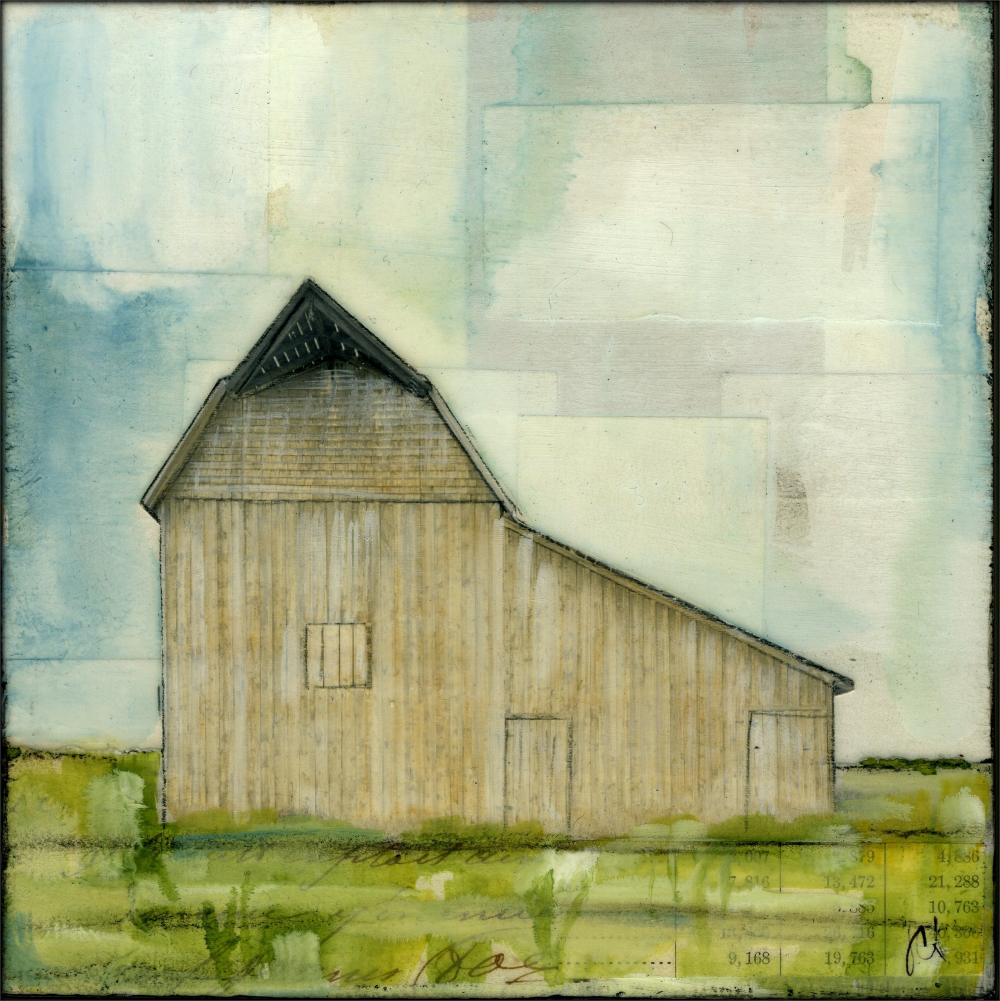 Western Barn II by JC Spock