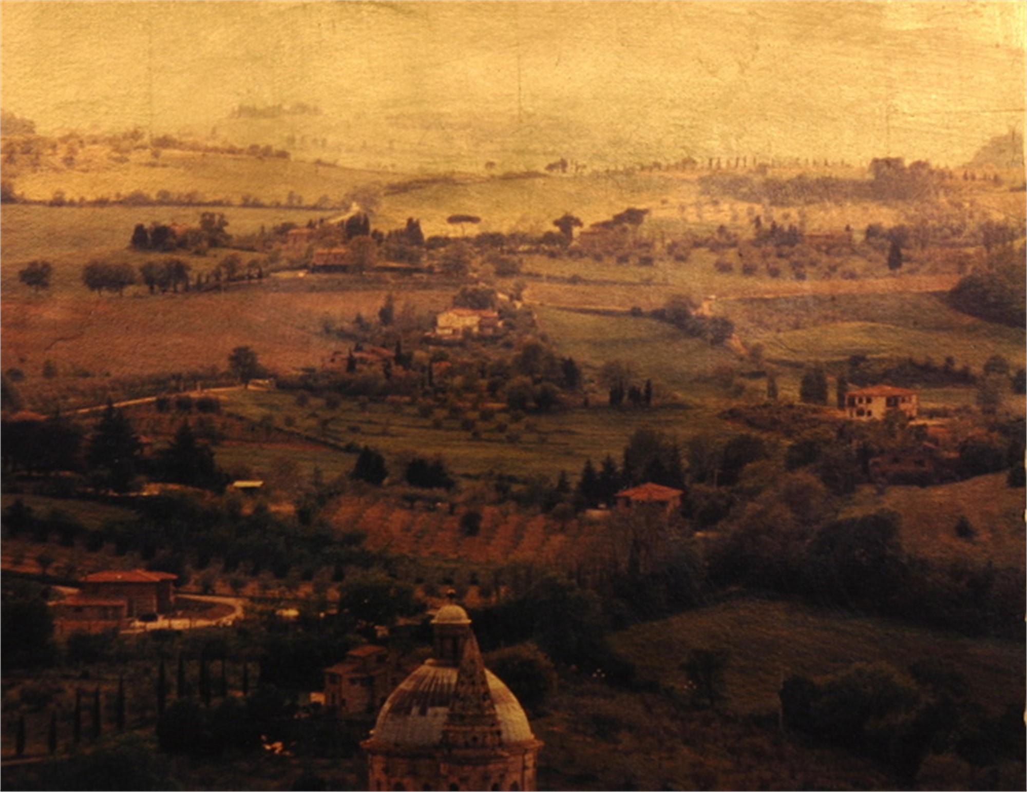 View of Montepulciano by Patty Mulligan