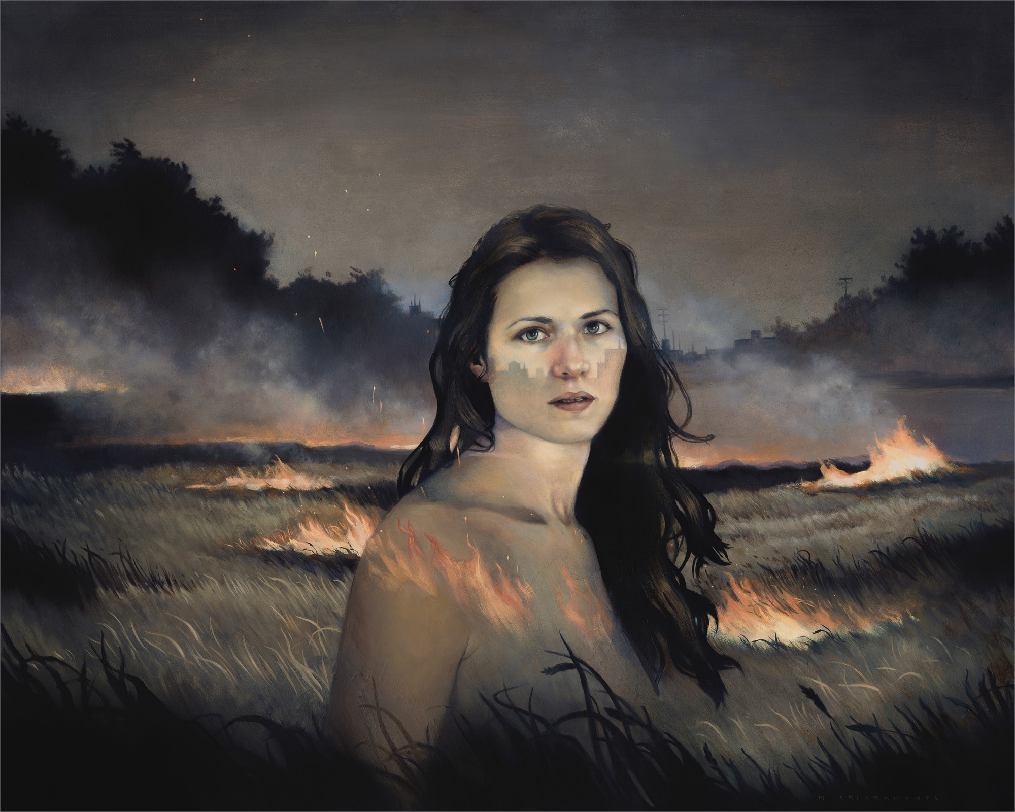 I Taste the Flame by Mary Chiaramonte