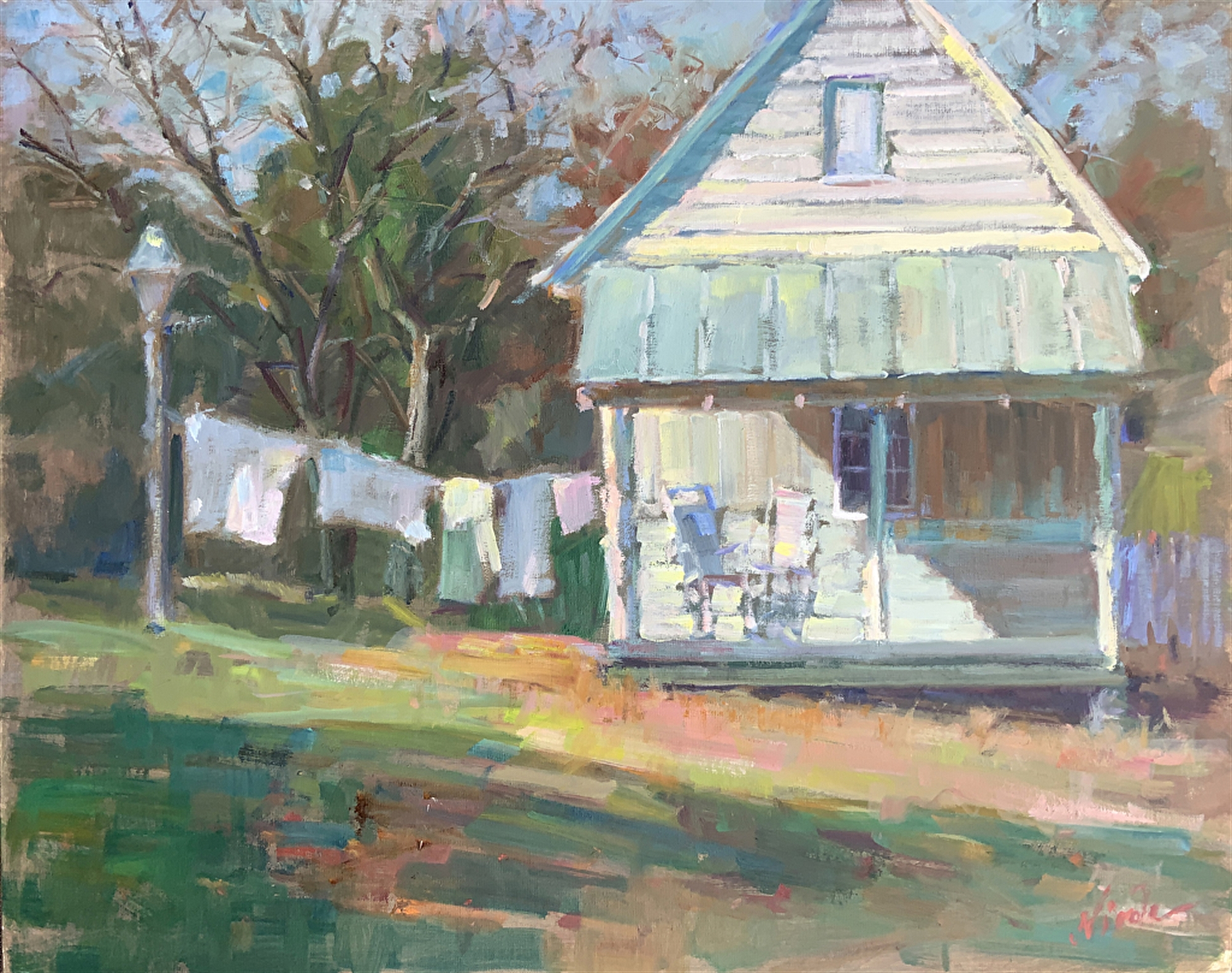 Rural Charm in Shades of White by Nicole White Kennedy