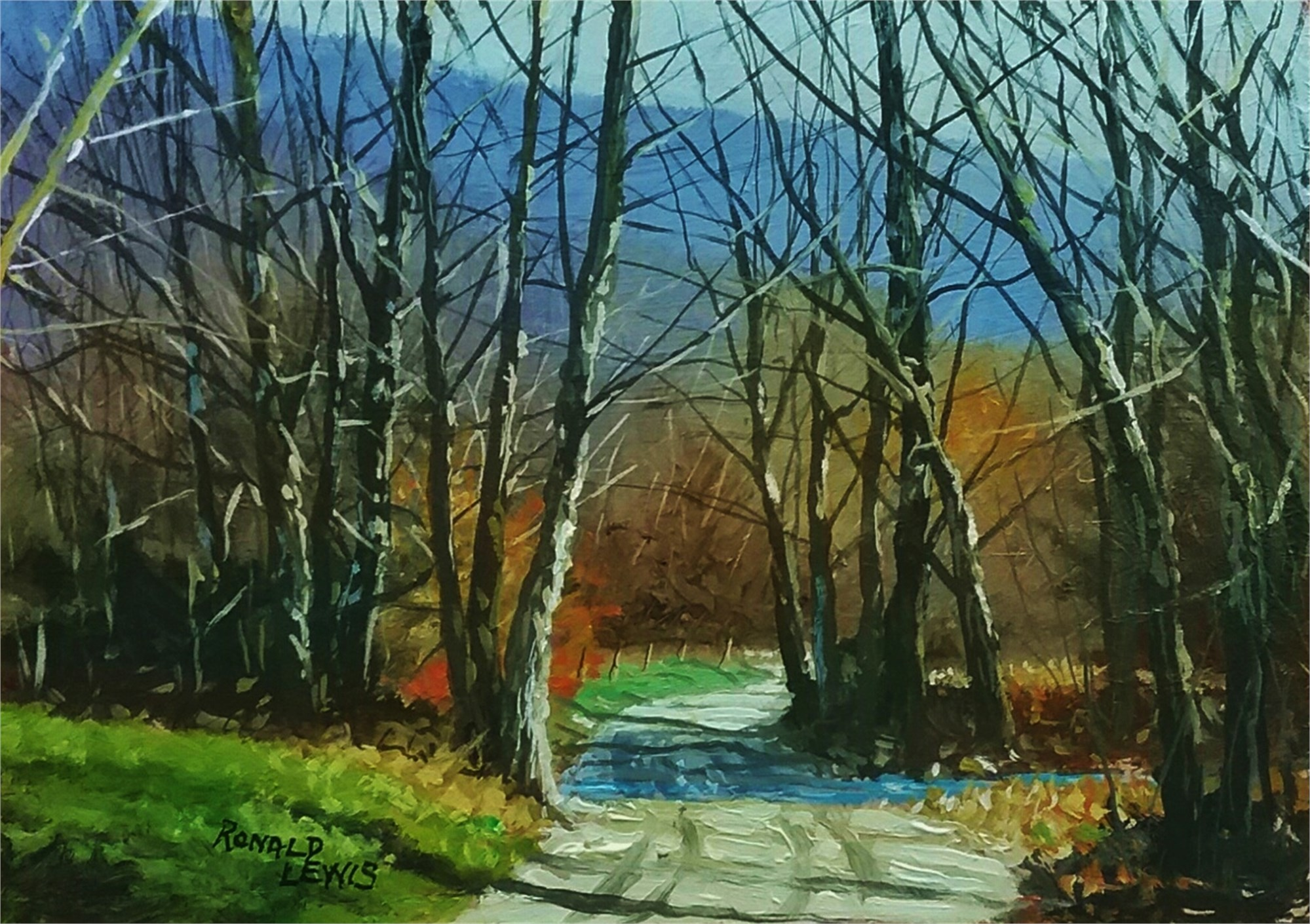 Ron Lewis Ford >> Ron Lewis Ford In Cade S Cove Beverly Mcneil Gallery
