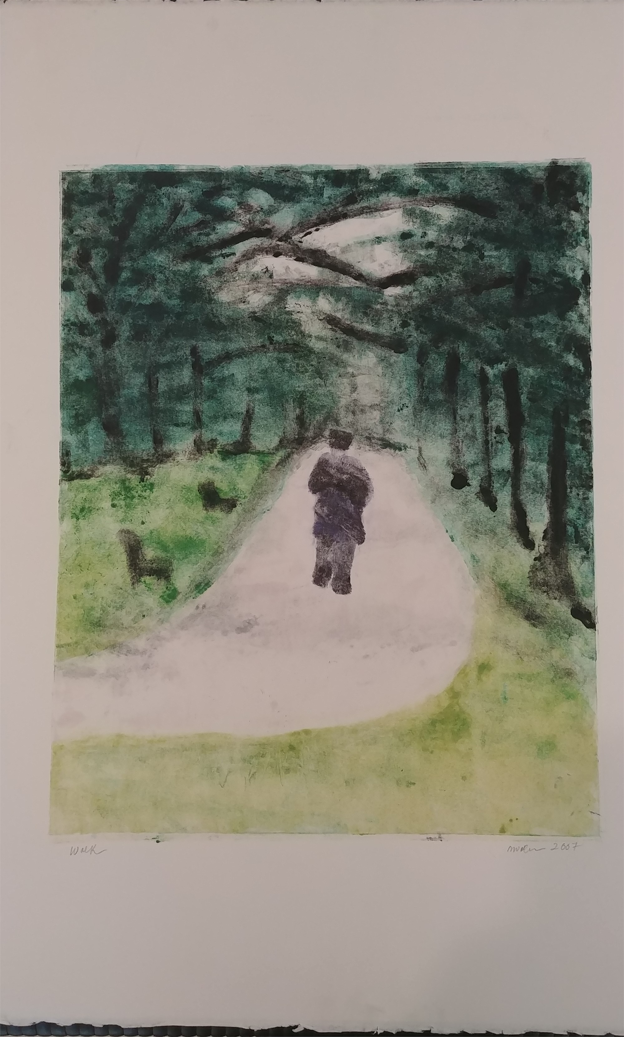 Walk by Mary Volm (Carlton, OR)
