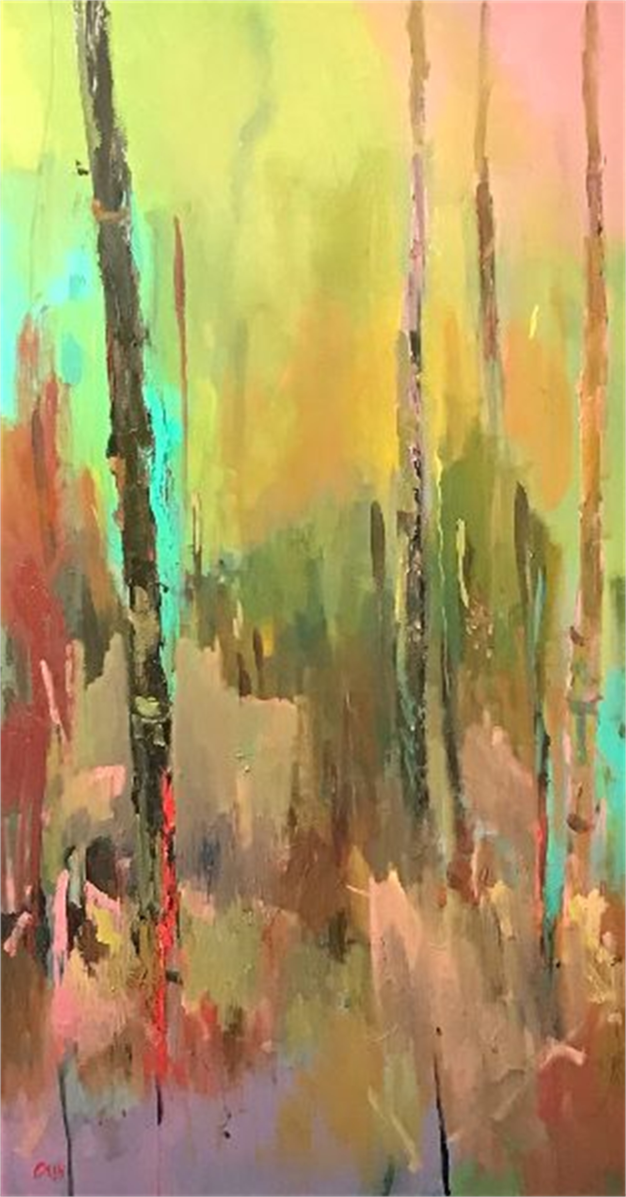 Cattails by James Calk