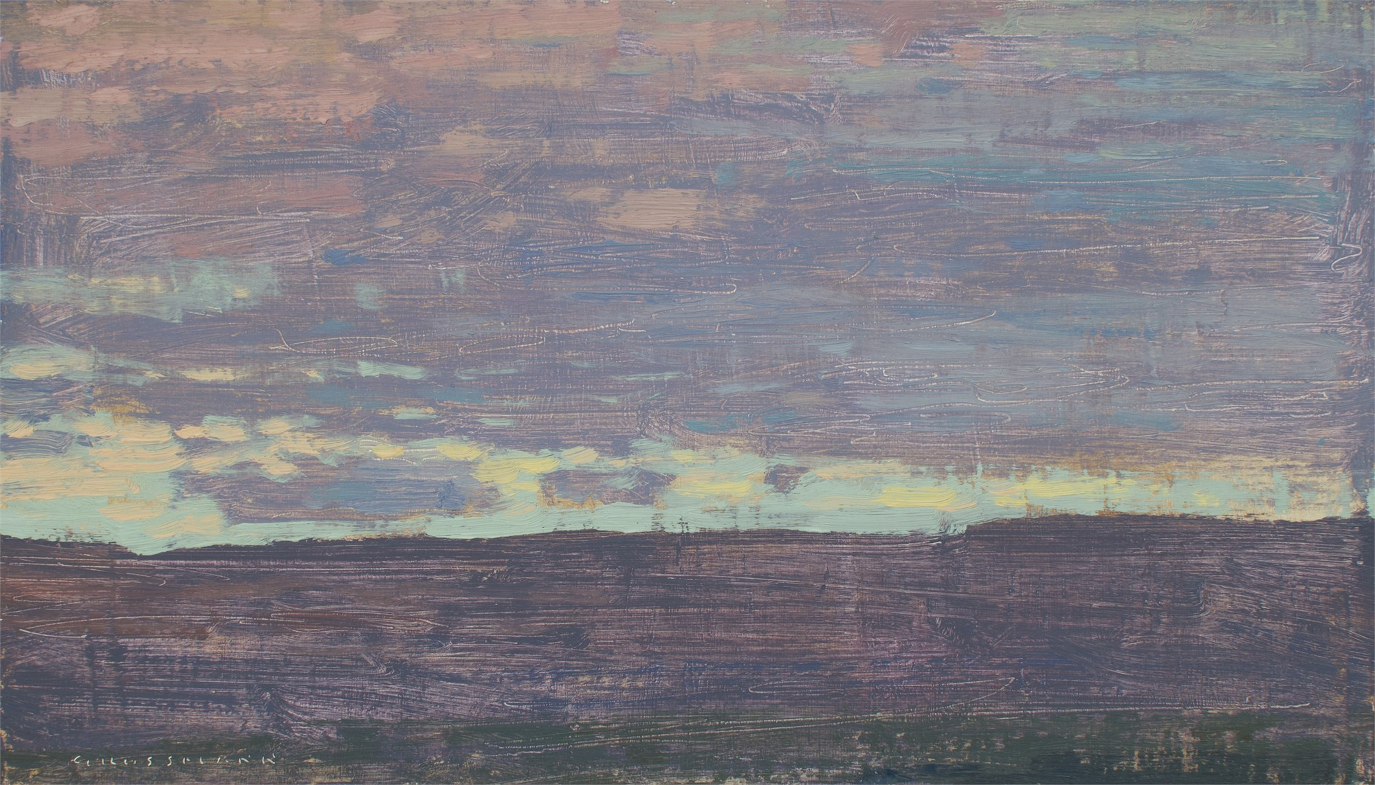 Evening View to the South West by David Grossmann