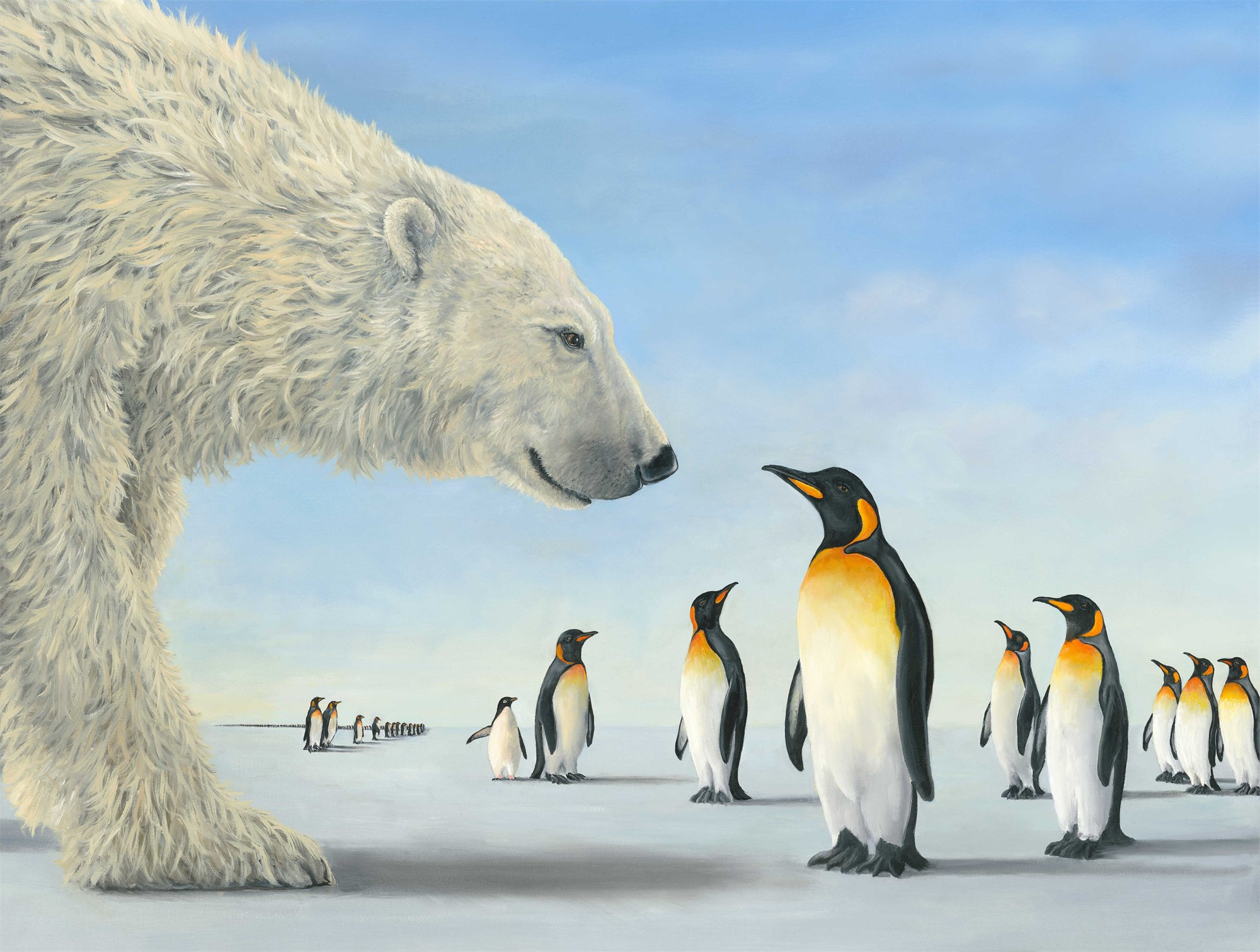 Meeting on the Ice by Robert Bissell