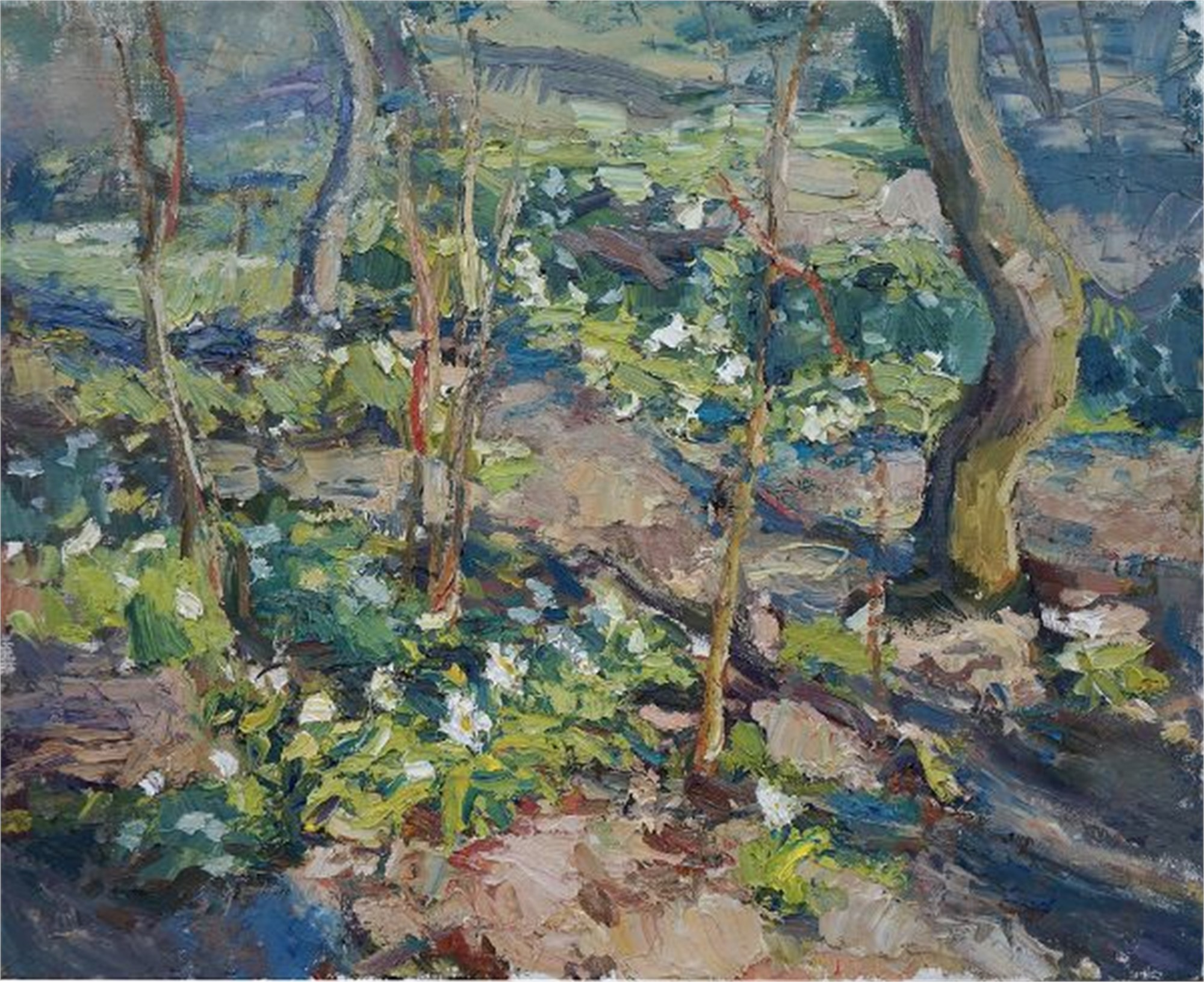 Forest Floor in Spring by Antonin Passemard