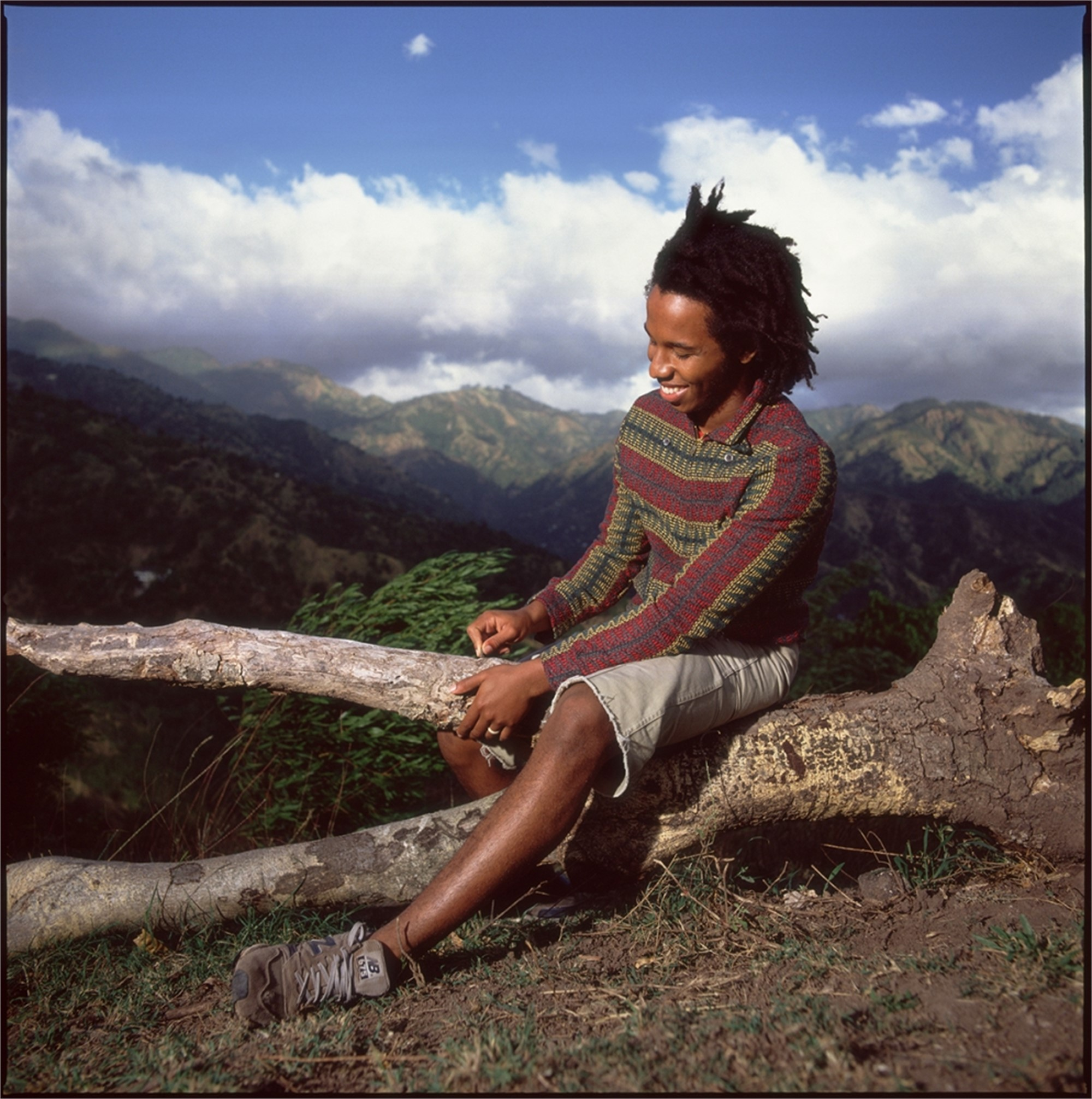 88011 Ziggy Marley Seated on the Mountain Color by Timothy White