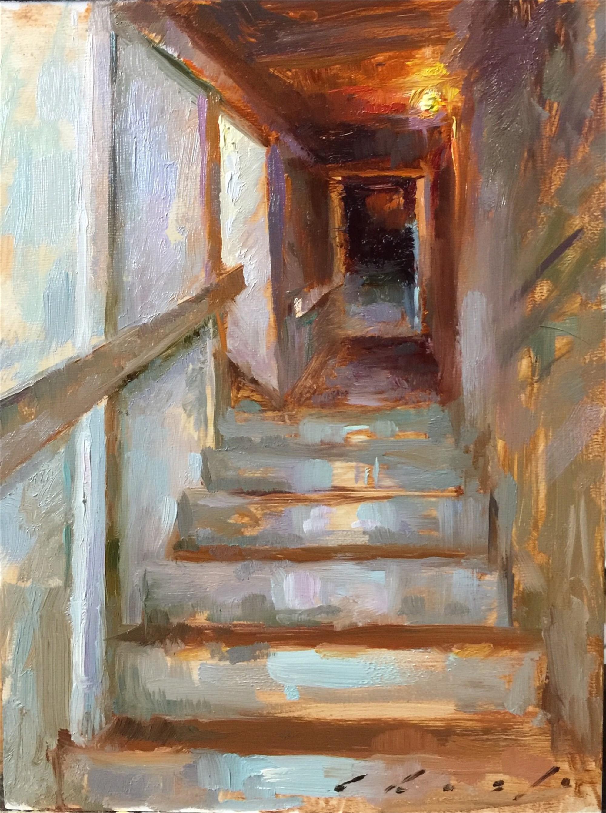 Stairway to Belltower by Suchitra Bhosle
