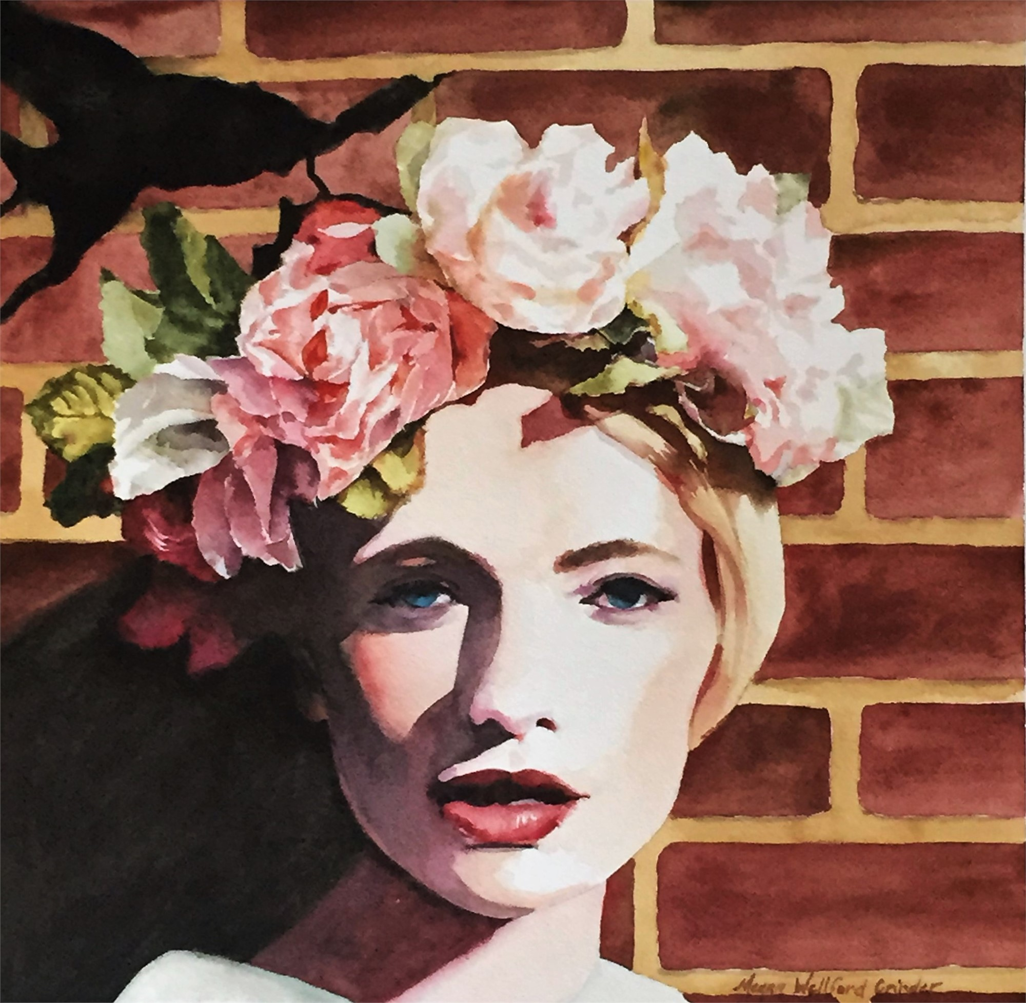 Crown of roses by megan grinder artcloud add to list share izmirmasajfo