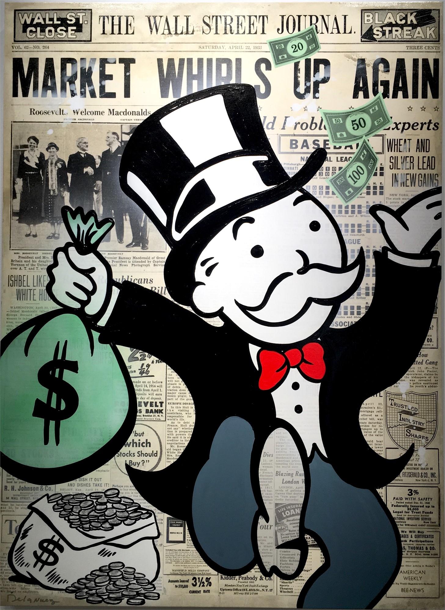 Take the Money and Run by Nelson De La Nuez | ArtCloud