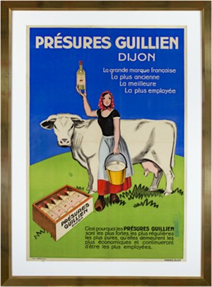 Presures Guillien, Dijon Cow, c. 1920-1930