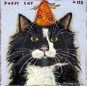Party Cat #128, 2019