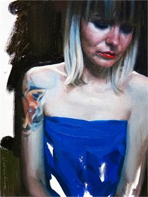 Girl in Blue, 2018