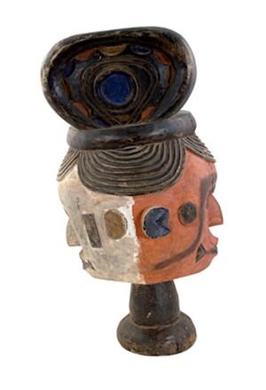 Ekoi mask  (Nigeria) #18, c.1950