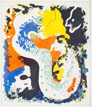 Estampas de Popol Vuh (Plate I), 1943
