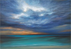 Blue Horizon (SN) by Cheryl Kline