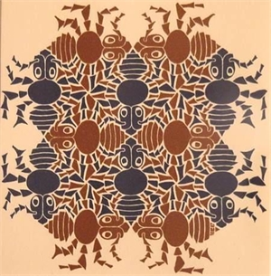 Earth, New Year's Greeting Card (Ants), 1952