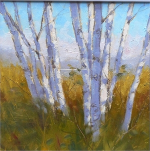 Birch Stand by David Westerfield