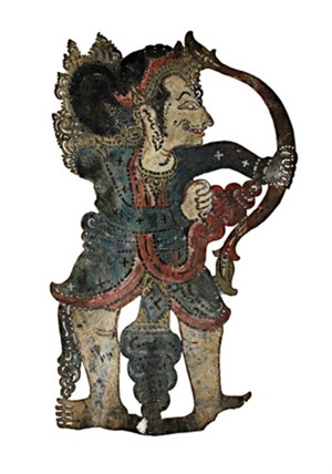ShadowPuppet Wayang Purwa, 19th C.