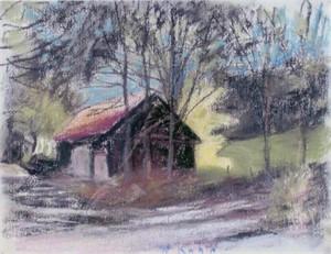 Black Barn & Yellow Tree, 2007