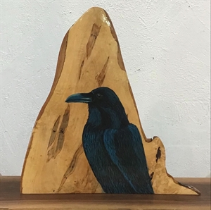 Mr. Raven mantel piece, 2020