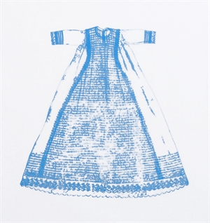 Christening Gown 1 (blue), 2019